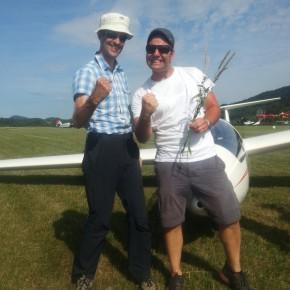Neu brevetiert: Dominik Weiss und David Schlumpf