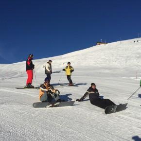 Skiweekend 2015 an der Lenk