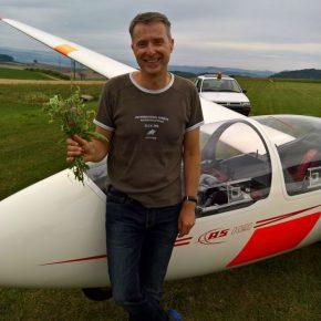 Neu brevetierter Pilot
