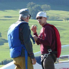 Herbstlager mit frischem Fluglehrer