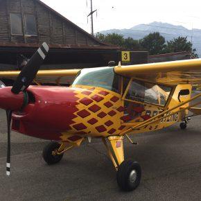 HB-KIQ Maule MX-7-235 - Zustiegstüre pilotenseitig