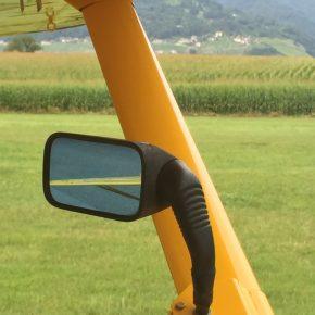 HB-KIQ Maule MX-7-235 - Rückspiegel links