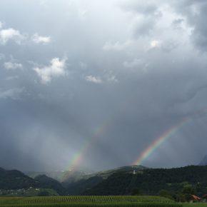 Wetter - Schwer + Dual-Regenbogen