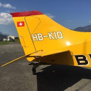 HB-KIQ Maule MX-7-235 - Heckansicht