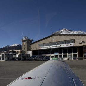 Engadin Airport Samedan LSZS Einweisung SEP/TMG