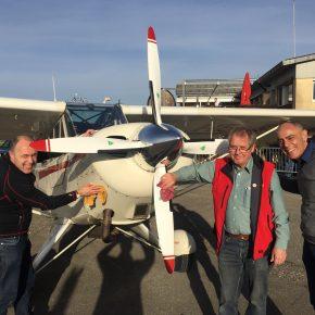 Zweite Tranche Husky-Checkflüge Saison 2017