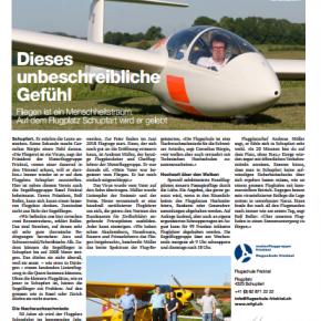 Die SGBF in der Basler Zeitung