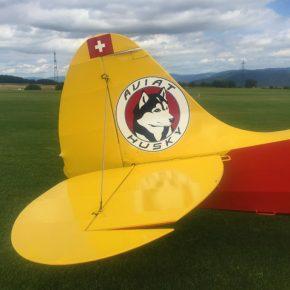 Ein Traum von einem Husky Schleppflugzeug :: HB-KEF