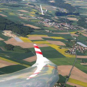 Einführung Streckenflug: Breitenförderungskurs (BFK) 2018, Flugplatz Montricher (LSTR), «Vom Brevet zum Diamanten»