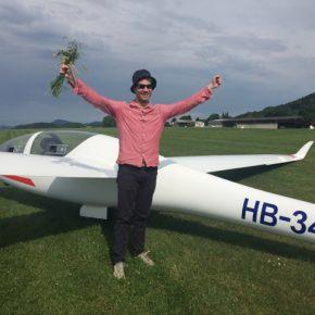 Neuer Pilot: Tobias Brunner