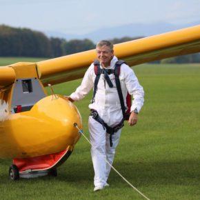 Erstflug Spalinger S18 - neue Bilder