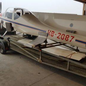 G109 auf Reisen - Ankunft auf der Wing Farm (GB)
