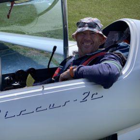 Discus 2cFES - Kurzer Flugbericht