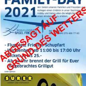 Family Day 2021 abgesagt